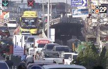 ผลกระทบการจราจรปิดสะพานข้ามแยกลำสาลี