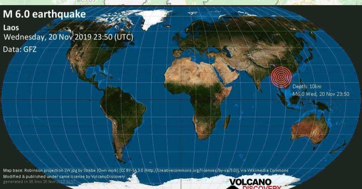 ไม่ใช่แค่ที่ไทย ! แผ่นดินไหวที่ลาวสะเทือนถึง 'ฮานอย' ตึกสูงสั่นโยก