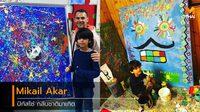 หนูน้อยนักวาดภาพวัย 7 ขวบ เจ้าของฉายา ปิกัสโซ่ แห่งศตวรรษที่ 21