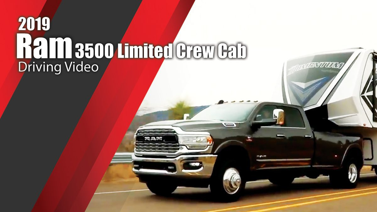 2019 Ram 3500 Limited Crew Cab Driving Video