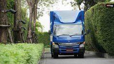 รถบรรทุกไฟฟ้า Fuso eCanter เขย่าวงการรถบรรทุกเพื่อการพาณิชย์ไทย