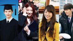 ชวนดูภาพจบการศึกษาของ 4 นักแสดงเกาหลีสุดฮอต
