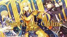 มาแล้ว!! อนิเมะSword Art Onlineภาค3:Sword Art Online Alicization