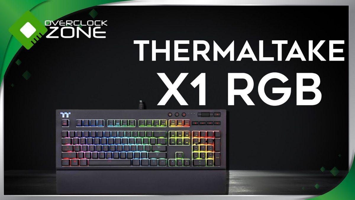 รีวิว Thermaltake X1 RGB : Keyboard เทพอ๊อพชั่นจัดเต็ม