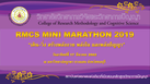 """RMCS Mini Marathon 2019"""