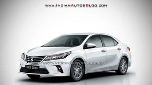 เปิดโฉมภาพ Render Suzuki Maruti ที่ดูอย่างกับ Toyota Corolla Altis ยังงั้นเลย