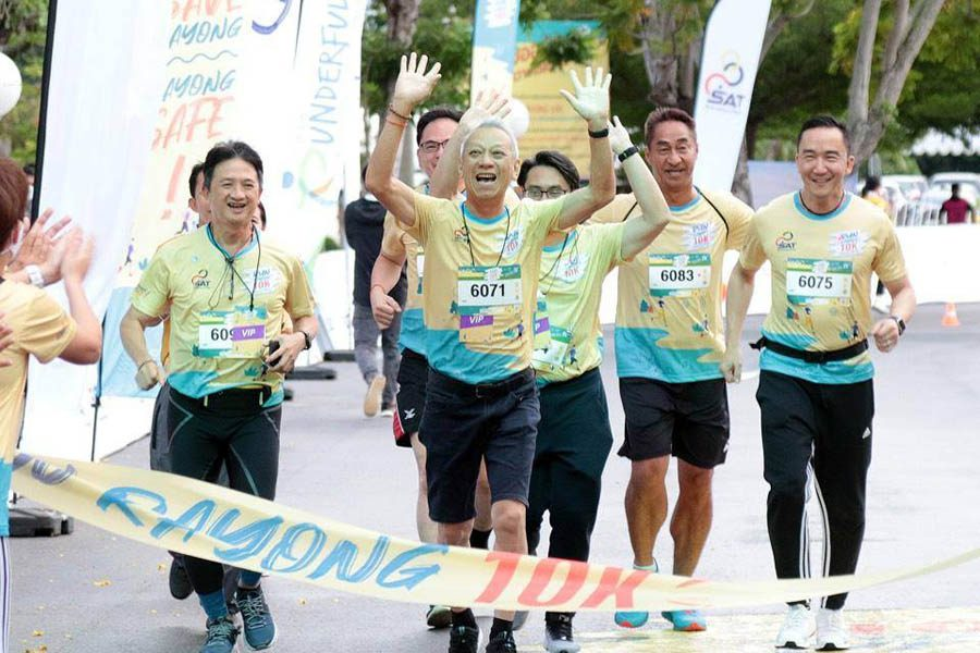 รันระยอง ตัวอย่างงานวิ่งวิถีใหม่ สนามแรก นักวิ่งเข้าร่วมกันอย่างคึกคัก