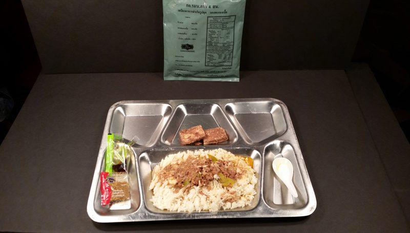 MRE อาหารสนาม เสบียงของทหารออกรบ