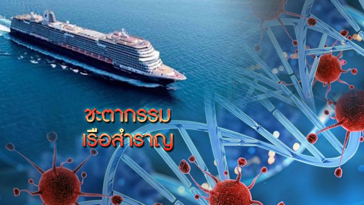 ชะตากรรมเรือสำราญเวสเตอร์ดัม 12-02-63