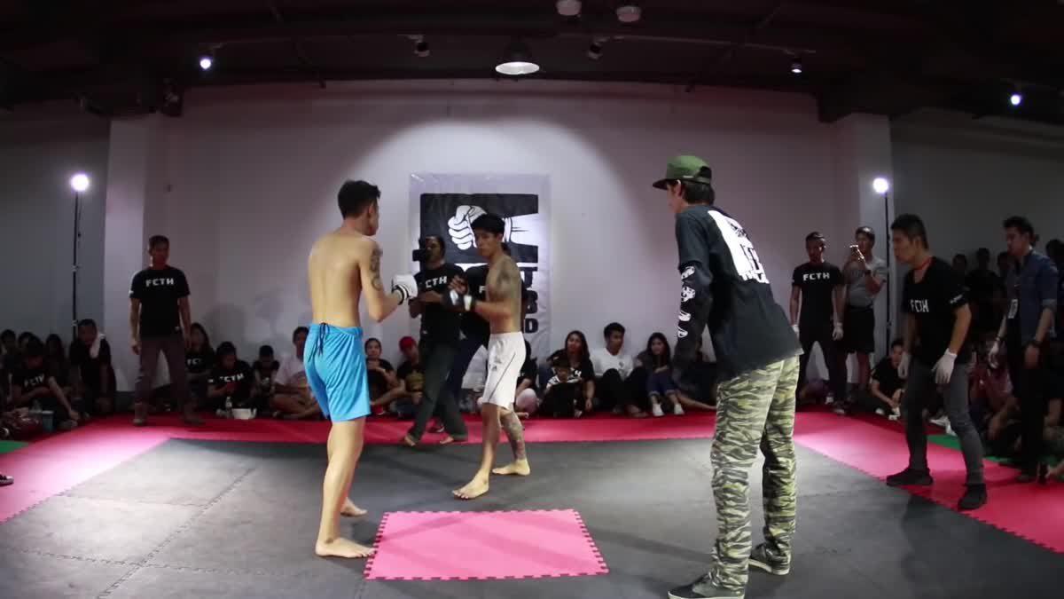 Fight Club Thailand 2017 ธันวา x ฤทธิ์ เบอรี่ คู่ที่ 212