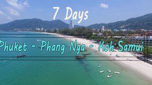 7 Day Thailand Trip Suggestion Phuket Phang Nga Koh Samui