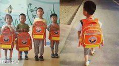 กระเป๋านักเรียนสีส้ม สัญลักษณ์ของเด็กจีนผู้มีความบกพร่องทางการได้ยิน