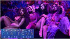 เกิร์ลกรุ๊ปสุดฮอต Fifth Harmony เตรียมโชว์คอนเสิร์ตในไทย 5 มีนาคม!