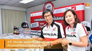A.P. Honda เผยรายชื่อผู้ผ่านเข้ารอบกิจกรรมในโครงการสังคมหัวแข็ง ปี 4