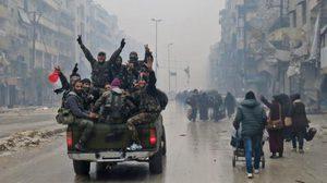 รัสเซียประกาศยุติการรบ ในเมืองอเลปโปของซีเรียแล้ว