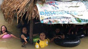 น้ำท่วม จ.สงขลา เข้าขั้นวิกฤติ ประกาศเป็นเขตภัยพิบัติแล้ว 16 อำเภอ