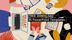 35 PowerPoint Templates ฟรี สวย น่ารัก ดูดี – ใช้กับ Google Slides Theme ก็ได้นะ