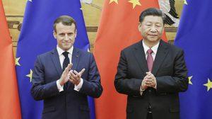 จีน-ฝรั่งเศส ลงนามข้อตกลงมูลค่า 4.5 แสนล้าน