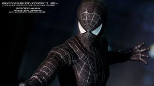 Hot toys  MMS165  Spider-Man (Black Suit Version)