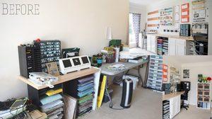 รีโนเวทห้องทำงาน สุดรกสู่สตูดิโองานคราฟท์พื้นที่ทำงานแสนสร้างสรรค์