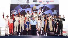 """""""โตโยต้า ทีมไทยแลนด์"""" ผงาดคว้าแชมป์ศึก """"RAAT Thailand Endurance Championship International 2017"""""""