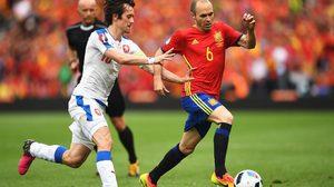 ต้านไม่อยู่! สเปน ยิงท้ายเกมคว่ำ เช็ก 1-0 ยูโร 2016 กลุ่มดี