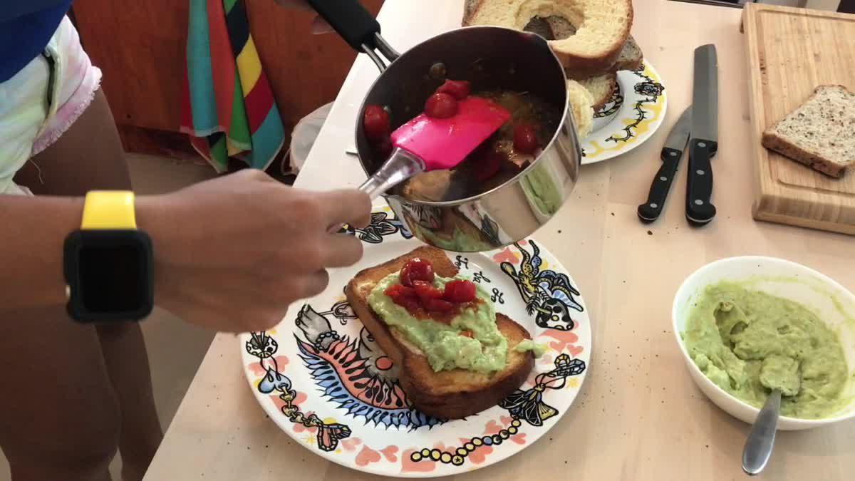 แนนซี่ มาสอนทำอาหารเช้า แบบ Super food ประโยชน์อัดแน่น อิ่มสบายท้อง