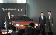 The All-New Lecus UX : The Urban Disruptor คอมแพกต์ ครอสโอเวอร์ รุ่นล่าสุด