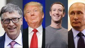 100 บุคคลที่ทรงอิทธิพลมากที่สุดในโลก โดยนิตยสาร Forbes