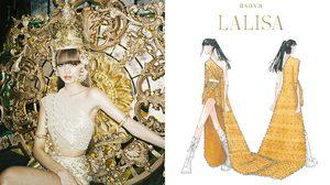 ห่มสไบให้โลกจำ Lalisa กับการสวมชุดไทย เป็นหนึ่งซีนสาวไทยในเอ็มวี ด้วยผลงานออกแบบ Asava