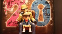 """ฉลองครบรอบ 20 ปี กับรูปปั้น โคนัน กับงาน """"Incident in Conan Exhibit"""""""