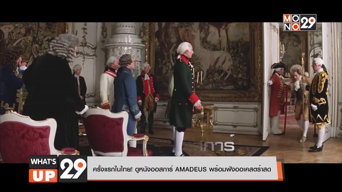 ครั้งแรกในไทย! ดูหนังออสการ์ AMADEUS พร้อมฟังออเคสตร้าสด