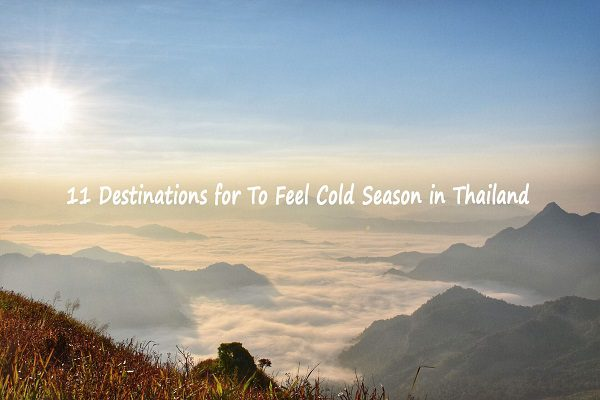 11 Destinations for To Feel Cold Season in Thailand