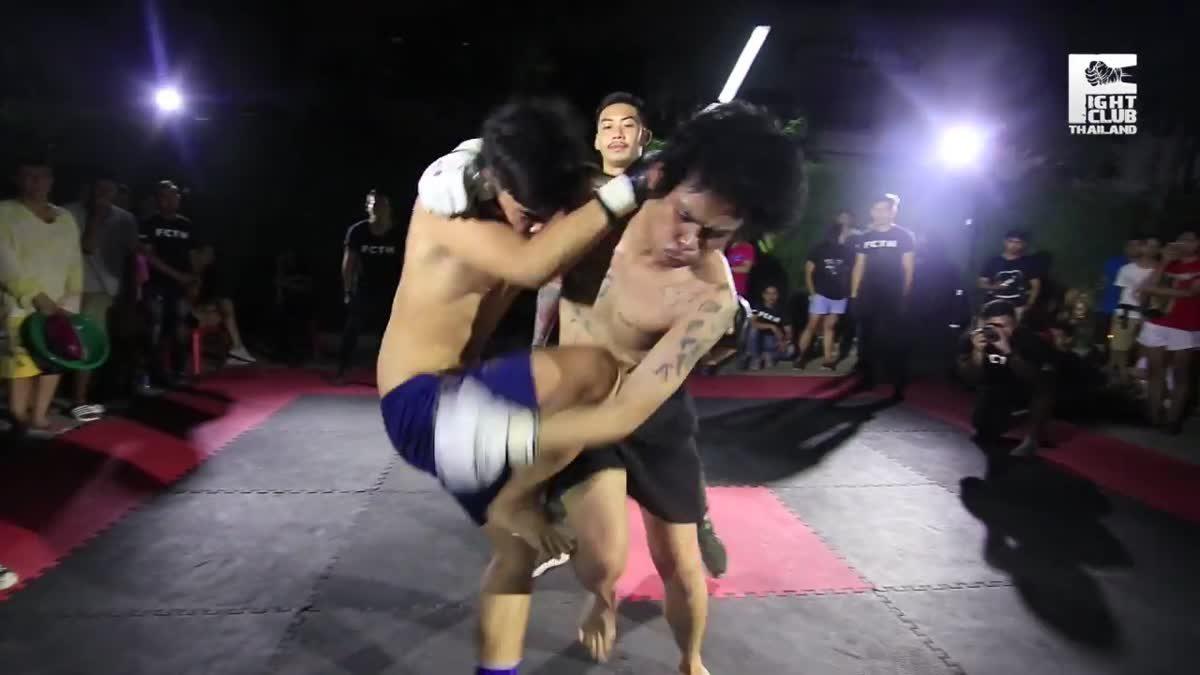 FIGHT CLUB THAILAND สำเพ็งสองCross bone ไก่แจ้(Bantam) x โอเล่(Ole) คู่ที่267.mp4