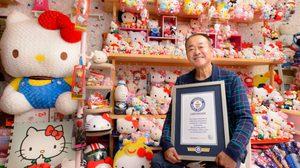คุณลุงชาวญี่ปุ่นสะสมตุ๊กตา Hello Kitty มากที่สุดในโลก จนได้บันทึกลง กินเนสบุ๊ค