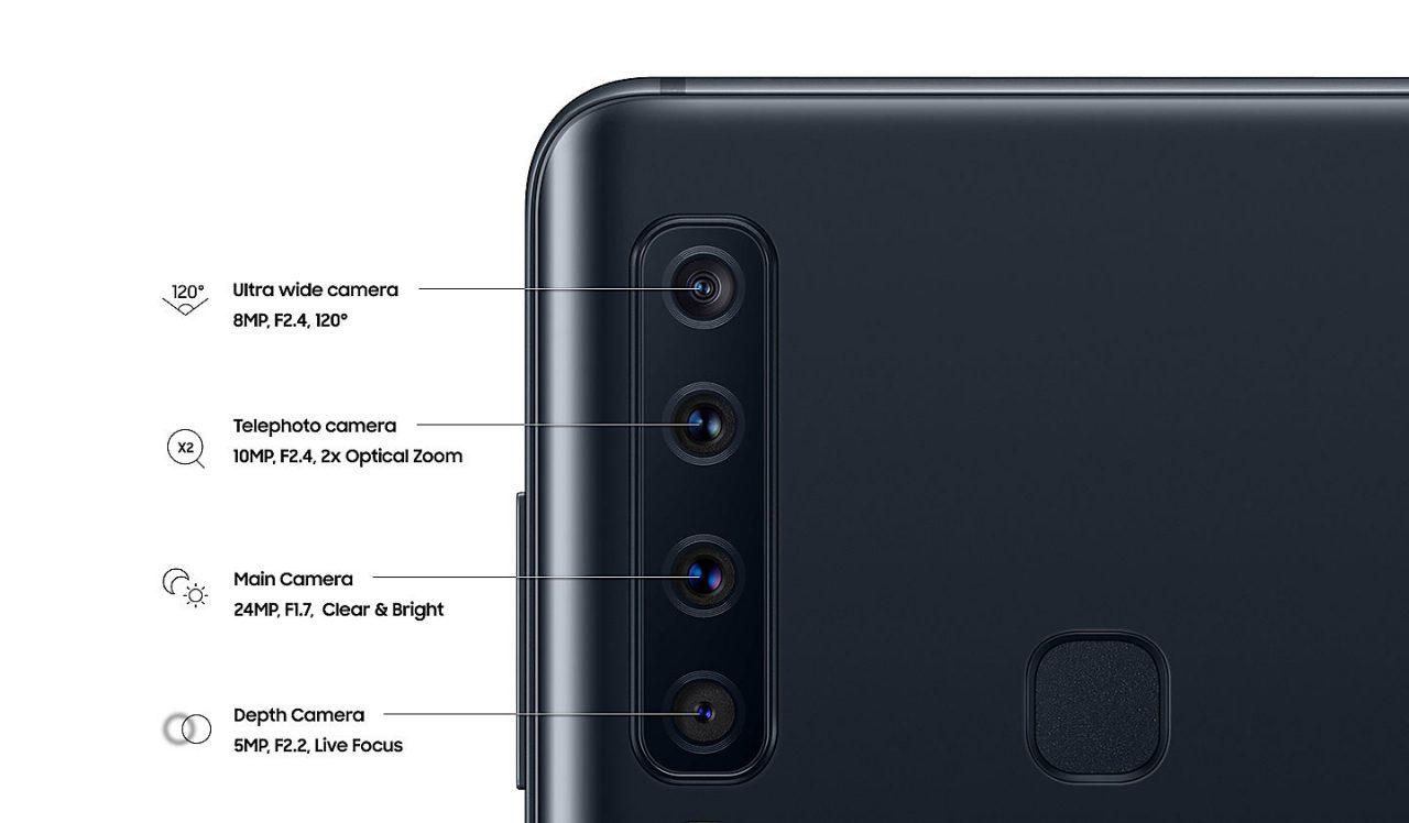 กล้องหลัง Galaxy A9 2018