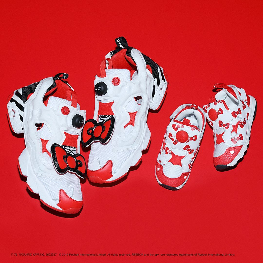 Reebok Instapump Fury : Hello Kitty