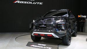 Mitsubishi Triton Absolute ดำดุมาดใหม่ แกร่ง ลุย ทุกอุปสรรคเส้นทาง ออฟโรด