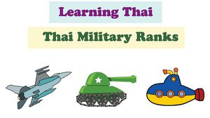 Thai Military Ranks