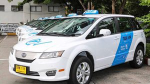 สุวรรณภูมิ เปิดตัวรถแท็กซี่พลังงานไฟฟ้าให้บริการผู้โดยสาร
