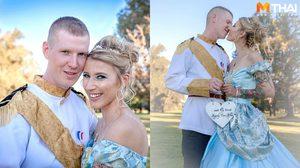 งานแต่งงาน อันแสนหวาน เมื่อคู่รักจัดงานแต่งงานธีมซินเดอเรลล่า ชวนแขกแต่งตัวจัดเต็ม!