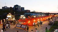 """เดินช้อปชิคๆ ตลาดกลางคืน เกาหลี """"Seoul Bamdokkaebi Night Market 2019"""""""