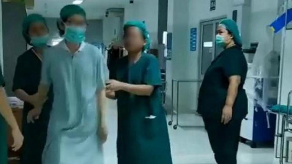 สั่งย้ายแล้ว หมอ-พยาบาล ในคลิปฉาวทะเลาะแย่งห้องผ่าตัด