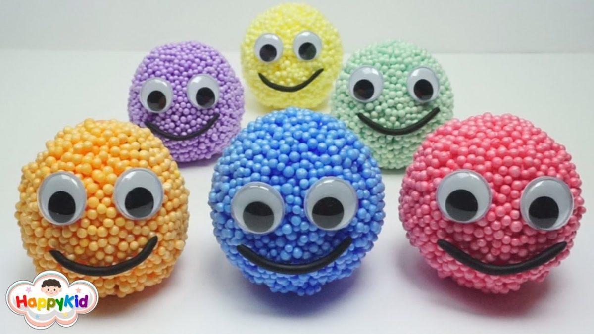 สไลม์โฟมเซอร์ไพรส์ | ดินน้ำมันโฟม | โมเดลโดราเอมอน | Foam Clay Surprise Balls Doraemon Set
