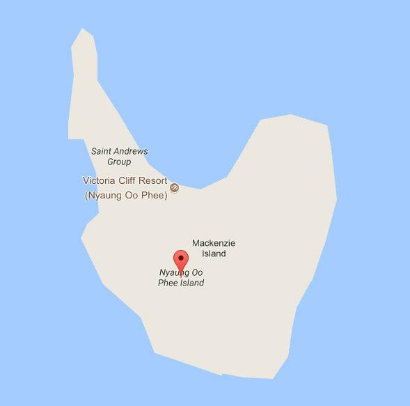 รูปร่างของเกาะ นาวโอพี