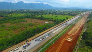 ทางรถไฟความเร็วสูงไทย-จีน คืบหน้า 28% คาดแล้วเสร็จ ต.ค.นี้