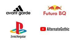 เปลี่ยน Logo แบรนด์ดังระดับโลกให้เป็น Font ที่ใช้ แปลกตาดูดีไปอีก