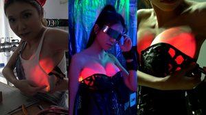 ชุดนมเรืองแสงจาก นวัตกรรมสุดคูลจาก SexyCyborg สุดเอ็กซ์แห่งประเทศจีน