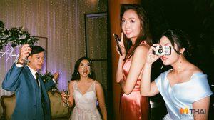 งานแต่งคูลๆ บ่าวสาว แจกกล้องฟิล์ม ให้แขกในงานลั่นชัตเตอร์เซฟภาพประทับใจ