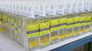 มมส ผลิตสเปรย์เอทานอล 75% เตรียมแจกจ่ายใช้ในมหาลัย ยับยั้ง COVID-19